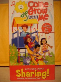 Let's Sing about Sharing [VHS] Wonder Kids Movies & TV