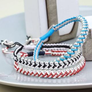 criss cross jolie friendship bracelet by lisa angel