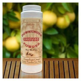 Grapefruit Citrus Downunder Body Powder for Men : Bath Products : Beauty