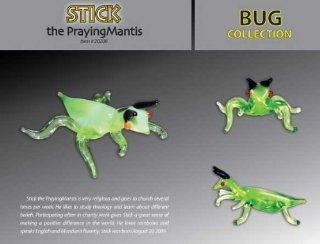 Stick the Praying Mantis Looking Glass Torch Sculpture: Toys & Games