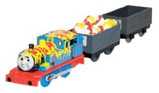 Trackmaster Thomas Makes a Mess Greatest Moments Engine: Toys & Games