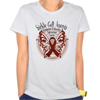 Sickle Cell Anemia Butterfly 3 Tees