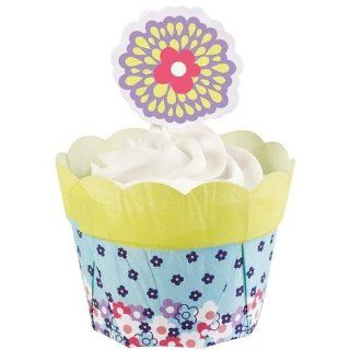 Flower Pot Kit Makes 12 Peony 3 Pack   Disposable Baking Cups