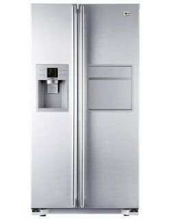 LG GW P227YLQK Side by Side K�hlschrank mit 544l, Indoor IceMaker, Soft Touch Barfach, Touch LED, Elektro Gro�ger�te