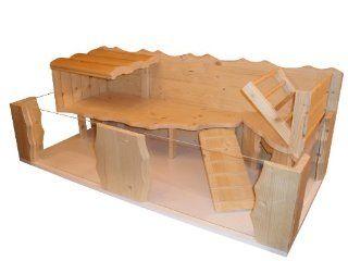 Wundersch�ne Meerschweinchenbehausung aus Holz Küche & Haushalt