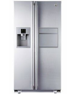 LG GW P227YLNV Side by Side K�hlschrank mit 544l, EEK A+, Indoor IceMaker, Soft Touch Barfach, Touch LED, Linear Kompressor mit nur 40 dB, Miracle Zone Elektro Gro�ger�te