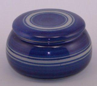 Original franz�sische wassergek�hlte keramik butterdose. Nie mehr harte butter zum fr�hst�ck. gro�, f�r ca 250 g butter. Glasur C3: Küche & Haushalt