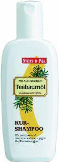 Swiss o Par Teebaum�l Kurshampoo 250 ml, 3er Pack (3 x 250 ml): Drogerie & Körperpflege