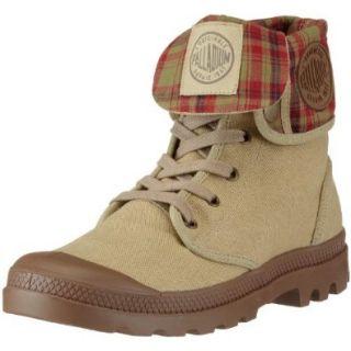 Palladium BAGGY~STONE DK KHAKI~M 02353 261 M Unisex Erwachsene Schn�rhalbschuhe: Schuhe & Handtaschen