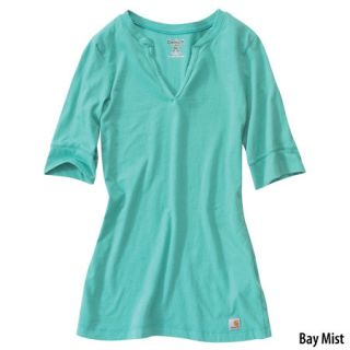 Carhartt Womens Elbow Sleeve Solid T Shirt (Style# WK137) 452308