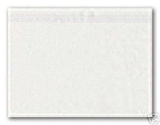 250 Dokumententaschen DIN C5 transparent selbstklebend: Küche & Haushalt