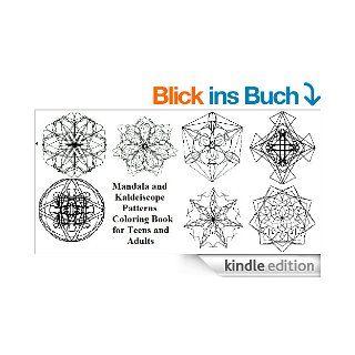 Mandala und Kaleidoskop Muster Malbuch f�r Jugendliche und Erwachsene eBook: Robin Michell: Kindle Shop