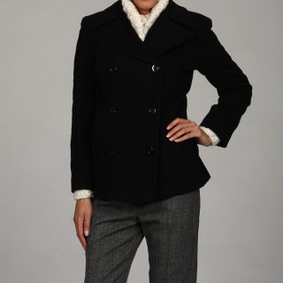 Stephanie Matthews Stephanie Mathews Ladies Coat Black Size S (4 : 6)