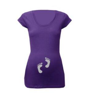 "Trend Mama Umstandsmode Print Shirt ""Baby F��chen"" witzige Umstandsmode: Bekleidung"
