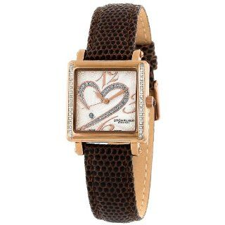Stuhrling Original Women's 253S2.MPN.1145K2 Romance Collection Courtly La Femme Diamond Swiss Quartz Watch at  Women's Watch store.