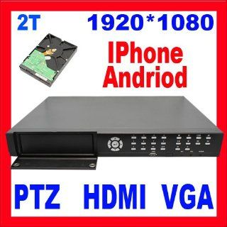 Professional 16 Channel H.264 Standalone DVR for Security Camera System: Support iPhone, Andriod, & Blackberry. HDMI & VGA. Real Time Video/Audio Recording, Playback and Network Capability. Built In Motion Detection Recording Function with Sensitiv