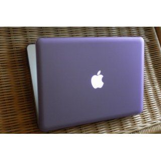 TopCase 13 Inch Macbook Pro A1278 with or without Thunderbolt 4 in 1 Bundle Rubberized Purple Hard Case Cover with Matching Color Soft Sleeve Bag,Silicone Keyboard Cover,LCD HD Clear Screen Protector and TopCase Mouse Pad Computers & Accessories