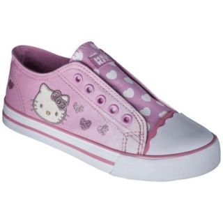 Girls Hello Kitty Canvas Sneaker   Pink