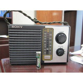 Sony Icf f10 Fm/am Two 2 Band Am Fm Portable Battery Transistor Radio Electronics