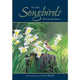 Lang Songbirds 2014 Monthly Planner