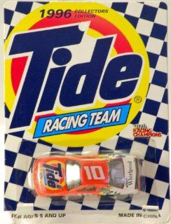 1996   Racing Champions   Collectors Edition   Tide 50th Anniversary   Tide Racing Team   Ricky Rudd   #10 Ford Thunderbird   NASCAR   Very Rare   Mint   Collectible: Toys & Games