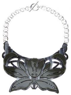 Carven 'petit Collier Plexi' Necklace   Mooi