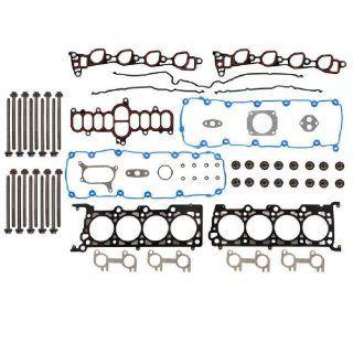 5.4L Ford F 150 E 150 Head Gasket Set Head Bolts 302CID Vin L/M/Z SOHC 16 Valves Automotive