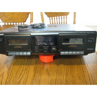 Sony TC WE305 Dual Cassette Deck (Discontinued by Manufacturer) Electronics