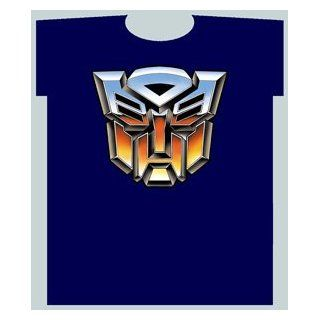 Navy Blue Transformers T Shirt (Adult Large)   Transformers Shirt [Toy]: Toys & Games