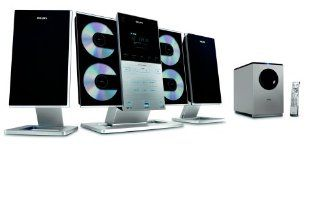 Philips MCM309R Flat Micro Shelf System Electronics