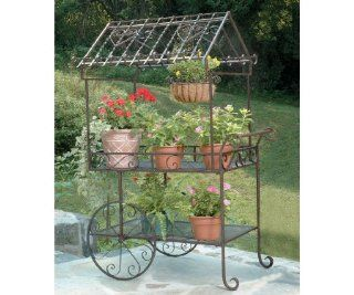 Deer Park D68 TC104 Large Flower Cart : Plant Stands : Patio, Lawn & Garden