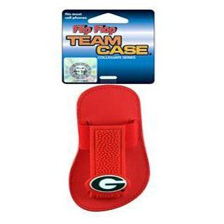 Georgia Bulldogs Cell Phone Molded Logo Team Case Flip Flop Version: Sports & Outdoors