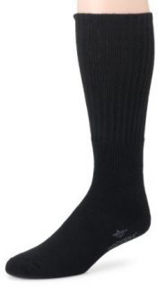 Dockers Men's 3 Pack Sport Crew Socks Big & Tall, Black, 13 to 16: Clothing