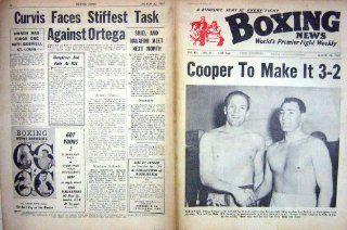 BOXING 1962 COOPER ERSKINE WALKER PEYRE KRAMER WALLY   Prints