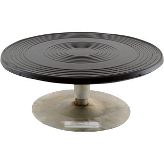 Vestil Heavy-Duty Manual Turntable — 500-Lb. Capacity, 12in. Dia., 4in.H, Model# TT-12-4  Turntables