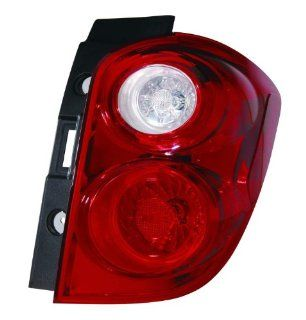 Depo 335 1950R AS Chevrolet Equinox Passenger Side Tail Lamp Assembly with Bulb and Socket Automotive