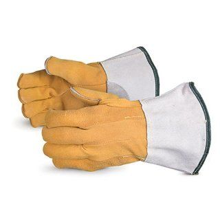 Superior 335DSKLG Precision Arc Split Deerskin Leather TIG Welders Glove with Kevlar Lining, Work, X Large (Pack of 1 Pair): Welding Safety Gloves: Industrial & Scientific