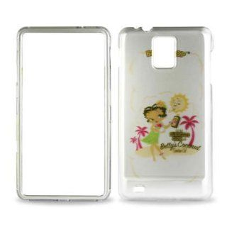 Betty Boop White Hula Dress Samsung Infuse 4G I997 Snap on Cell Phone Case + Microfiber Bag: Cell Phones & Accessories