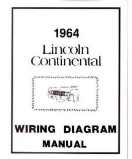 1964 Lincoln Continental Electrical Wiring Diagrams Schematics Manual Book OEM: Automotive