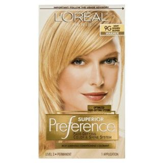 LOreal Preference Hair Color   Light Golden Blo