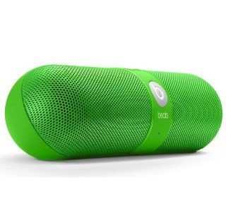 Beats by Dr Dre Pill Bluetooth Wireless Speaker   Neon Green: Electronics