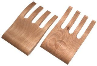 Tree Spirit Maple Salad and Pasta Helpers Flatware Salad Servers Kitchen & Dining