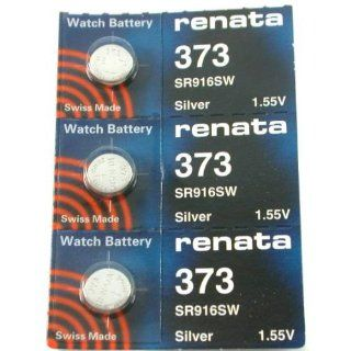 #373 Renata Watch Batteries 3Pcs