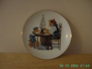 """COLLECTOR PLATE """"FOR A GOOD BOY"""" BY NORMAN ROCKWELL 1984  Commemorative Plates"""