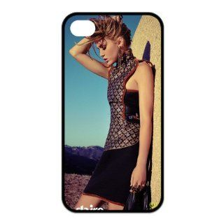 Miley Cyrus Best Actress Singer Design TPU Back Cover For Iphone 4 4s iphone4s 91738: Cell Phones & Accessories