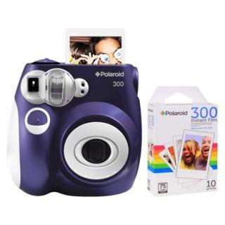Polaroid 300 Instant Camera   Purple (PIC 300L)