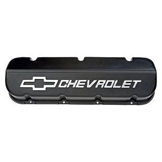 GM Parts 25534323 Black Powder Coated Aluminum Valve Cover for Big Block Chevy Automotive