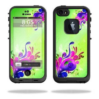 MightySkins Protective Vinyl Skin Decal Cover for LifeProof iPhone 5 / 5S Case fre Case Sticker Skins Pastel Flourishes: Cell Phones & Accessories