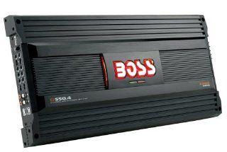 Boss Audio D550.4 MOSFET Bridgeable 4 Channel Power Amplifier  Vehicle Multi Channel Amplifiers