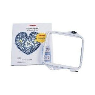 Janome Embroidery Machine Giga Hoop Kit and Software